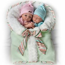 Ashton Drake Twin Baby Doll Set By Donna Lee - Madison And Mason