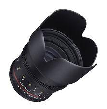 NEW Samyang VSLR II 50mm T1.5 Full Frame Cine Lens for SLR and DSLR Cameras