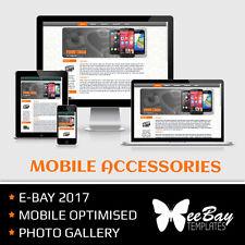 Modello di inserzione eBay Design PROFESSIONALE ASTA MOBILE amichevole HTML 2017 * 1