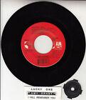 "AMY GRANT Lucky One (Remix) 7"" 45 rpm vinyl record + juke box title strip RARE!"