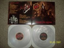 Slayer - Obscure and Obscene 2 x LP - Clear Vinyl - NEW COPY - Live in Holland