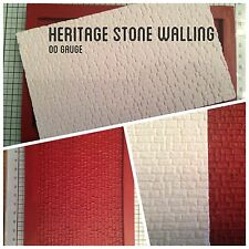 Linka Compatible - Heritage Stone Walling Mould Sheet - 00 Scale