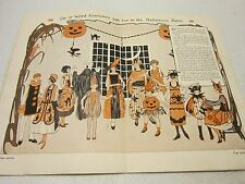 Vint Dennison 12th annual edition Halloween BOGIE book 1924 & Pioneer Party book