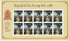 REPEAL OF THE STAMP ACT SOUVENIR SHEET -- USA FOREVER 2016