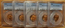 1928 Pcgs Ms64 Red Lincoln Cent - Fresh Grroup From Oriignal Rolls