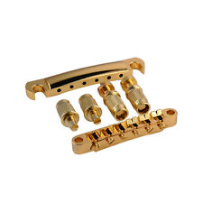 Gold Guitar Tune-O-matic Bridge Tailpiece Tail For Gibson Les Paul SG Whole Set