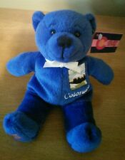 "Symbolz COLORAD ""The Centennial State"" Beanie Teddy Bear Plush Toy w/ Tags 2003"