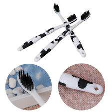 3 Pcs Soft Bamboo Charcoal Nano Oral Care Toothbrush Brush Set For Child Adult