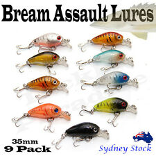 35mm Crank baits Fishing lures Shallow Hardbody Crankbait BREAM AND BASS BAL