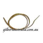 Ribbon Cord - Elastic 3mm Flat GOLD - 20 metres