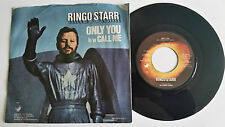 "Ringo Starr ""Only You"" USA Apple 7"" vinyl  Beatles"