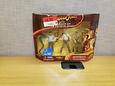 Indiana Jones Kingdom of the Crystal Skull Figure Set 2 of 2, New!