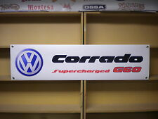 Volkswagen corrado G60 Supercharged, workshop or car display banner