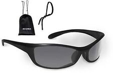 Bolle Spider Sunglasses, Smoke Gray Anti-Fog Lens  W/Case and Cord, #40067