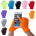 Touch Screen Winter Magic Unisex Women Men Gloves For Smart Phone iPhone iPad