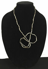 BENDABLE SNAKE CHAIN FLEXIBLE TWIST NECKLACE - BLACK