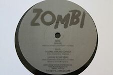 "ZOMBI Sapphire/Long Mirrored Corridor 12"" EP (Throne Of Blood 002, 2009) RARE"