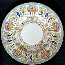 Royal Worcester Dinner Cabinet Plate Pattern Z 698-2 Beautifully Hand Painted