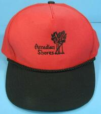 ARCADIAN SHORES Golf Club Myrtle Beach Vintage Adjustable Snapback Cap Hat