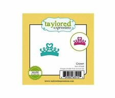Taylored Expressions Little Bits Die(s) Set~ CROWN  Princess, Magical ~TE668