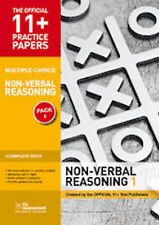 11+ Practice Papers, Non-Verbal Reasoning Pack 2 (Multiple Choice): NVR Test 5,…