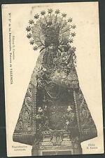 Postal antigua de la Virgen de los Desamparados andachtsbild santino holy card