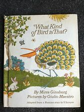 What Kind of Bird is That? by Mirra Ginsburg & Giulio Maestro Russian Story HC
