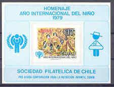 Jahr des Kindes - Chile - 1 Gedenkblatt ** MNH 1979