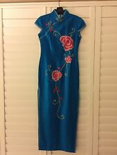 Qi Pao Dress! Chinese traditional quality Hand-Made Silk Dress!! XS, $300