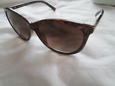 Calvin Klein brown tortoiseshell frame sunglasses. R691S. With case and cloth.