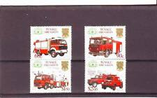 TUVALU - SG994-997 MNH 2001 FIRE ENGINES