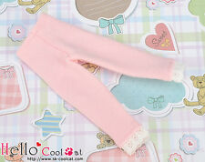 ☆╮Cool Cat╭☆【BT-L04】Blythe Tights / Trousers with Lace # Pink
