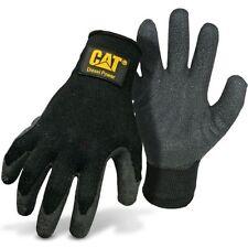 Cat Diesel Power Latex Palm Work Gloves Large