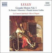 Lully: Grands Motets, Vol 1 Te Deum; Miserere; Plaude laetare Gallia /Le Conce