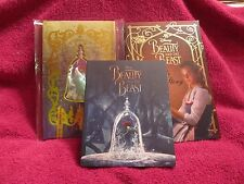 Beauty And the Beast (Novel, Belle's Story and Journal) ALL BRAND NEW BOOKS!!