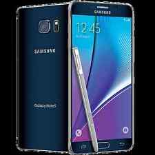 Unlocked Samsung Galaxy Note 5 SM-N920W8 32GB Black H2O T-Mobile AT&T New Othr
