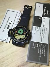 rare vintage casio CPW-310 Player Compass watch Muslims NOS NEW Made In Japan