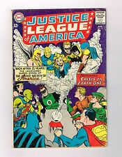 JUSTICE LEAGUE OF AMERICA (V1) #21 First Silver Age HOURMAN & DR FATE!