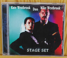 Kate and MiKE WESTBROOK Duo : Stage set