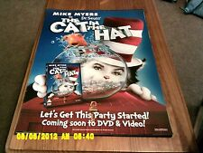 The Cat In The Hat (mike myers) Movie Poster A2
