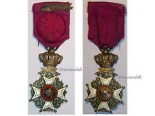 Belgium Officer Military Order Leopold palms WW1 Medal 1914 Decoration Belgian