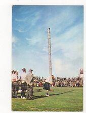 Tossing The Caber Scotland 1974 Postcard 363a