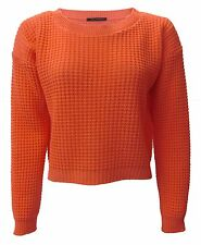 NEW WOMENS LADIES CROP TOP LONG SLEEVE JUMPER 8-18 SALE SAVE £1 FOR EVERY 2 ITEM