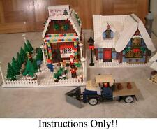 GET 100+ LEGO INSTRUCTIONS like Winter Village SANTA TREE FARM- 10229 Cottage