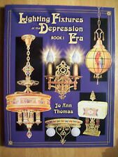 ANTIQUE LIGHTS / LAMPS Price Guide BOOK Hanging + MORE