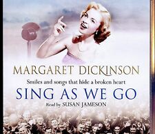 Margaret Dickinson / Sing As We Go - 3CD Audio Book - MINT