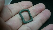 Lovely little bronze Medieval buckle L461