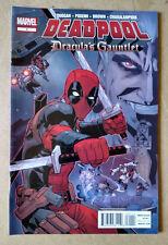 DEADPOOL CRACULA'S GAUNTLET #1 - FIRST PRINT MARVEL COMICS (2014)
