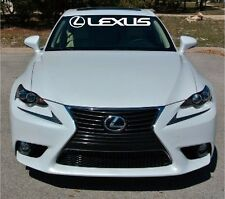 lexus Windshield Vinyl Decal Banner Sticker