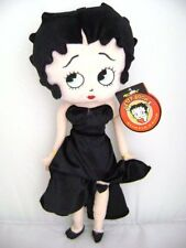 "BETTY BOOP BLACK DRESS 22"" PLUSH DOLL-BETTY BOOP LARGE PLUSH-NEW WITH TAGS!"